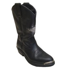 Harley Davidson AMARILLO 8.5 Cowboy Boots 82074